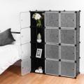 DIY 12 Cube Portable Closet Storage Organizer