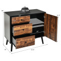 """31.5"""" Storage Cabinet with Drawer and Side Cabinet"""