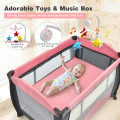 3 in 1 Baby Playard Portable Infant Nursery Center with Music Box