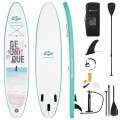 10.5 ft Inflatable Stand Up Paddle Board Surfboard with Aluminum Paddle Pump