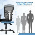 Ergonomic Mesh Office Chair with Adjustable Back Height and Armrests