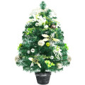 2 Feet Pre-lit Battery Operated Tabletop Artificial Christmas Tree with 40 LED Lights