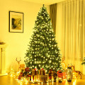 Pre-lit PVC Artificial Natural Christmas Tree with LED Lights