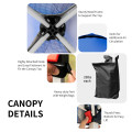6.6' x 6.6' Outdoor Pop Up Camping Canopy Tent with Roller Bag