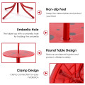 Kids Patio Folding Table and Chairs Set Beetle with Umbrella