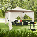 Canopy and Garden Structures Gazebo with Netting for Outdoors
