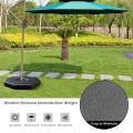 4 Pcs Patio Cantilever Offset Umbrella Weights Base Plate Set