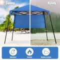 7 x 7 FT Sland Adjustable Portable Canopy Tent with Backpack