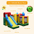 Mighty Inflatable Bounce House Castle Jumper Moonwalk with Blower
