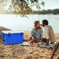 58 Quart Leak-Proof Portable Cooler  Ice Box for Camping