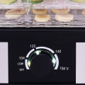 5 Tray Temperature Control Fruit Vegetable Dryer