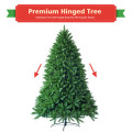 5 Feet Artificial Christmas Fir Tree with 600 Branch Tips