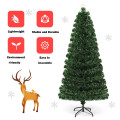 5' / 6' / 7' Pre-Lit Fiber Optic Artificial Christmas Tree with LED Lights and Stand