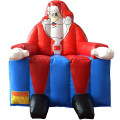 Inflatable Santa Claus Bounce House Christmas Jumper