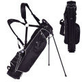 Golf Stand Cart Bag with 4 Way Divider Carry Organizer Pockets