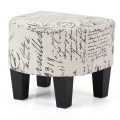 Barrel Accent Linen Fabric Upholstered Chair Tub Chair