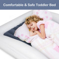 Inflatable Toddler Travel Bed with Safety Bumpers
