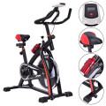 Household Adjustable Indoor Exercise Cycling Bike Trainer with Electronic Meter