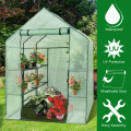 8 shelves Mini Walk In Greenhouse Outdoor Gardening Plant Green House
