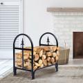 2' Outdoor Heavy Duty Steel Firewood Storage Holder