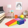 5-Piece Set Climb Activity Play Safe Foam Blocks