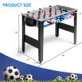 """42"""" Wooden Foosball Table for Adults & Kids Home Recreation"""