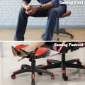 Multi-Use Footrest Swivel Height Adjustable Gaming Ottoman Footstool Chair