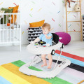 2-in-1 Foldable Baby Walker with Music Player and Lights