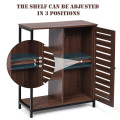 Industrial Bathroom Storage Free Standing Cabinet with 3 Shelves
