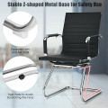 Set of 2 Heavy Duty Gues Chairs for Guest Reception Conference
