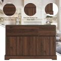 Buffet Sideboard Console Table Cabinet w/2 Storage Drawers