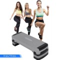 """35"""" Aerobic Cardio Adjustable Exercise Stepper with Risers"""