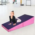 Tumbling Incline Gymnastics Exercise Folding Wedge Ramp Mat