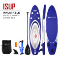 11' Adjustable Inflatable Stand up Paddle SUP Surfboard with Bag