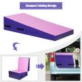 Folding Incline Tumbling Wedge Gymnastics Exercise Mat
