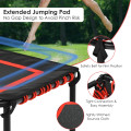"""50"""" Hexagonal Fitness Trampoline Exercise Rebounder with Pad"""