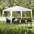 10 x 10 Feet Outdoor Wedding Party Canopy Tent for Backyard