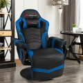 Ergonomic High Back Massage Gaming Chair with Pillow