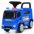 Mercedes Benz Kids Ride On Push Licensed Police Car