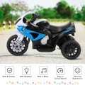 6V Kids 3 Wheels Riding BMW Licensed Electric Motorcycle