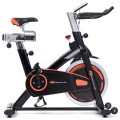Indoor Professional Stationary Cardio Fitness Exercise Bike with Flywheel and LCD Display