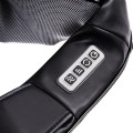Electric Back and Neck Kneading Shoulder Massager with Heat Straps