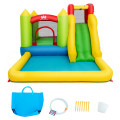 Outdoor Inflatable Bounce House with 480 W Blower