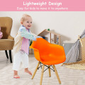 5 Piece Kids Mid-Century Colorful Table Chair Set