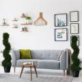 2 pcs 3 ft  In/outdoor Decoration Artificial Cedar Spiral Tree