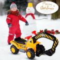 Kids Electronic Ride On Toy Excavator