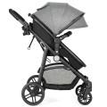 2-in-1 Foldable Pushchair Newborn Infant Baby Stroller
