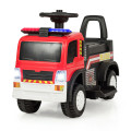 Kids 6V Battery Powered Electric Ride On Fire Truck