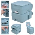 5 Gallon 20 L Outdoor/Indoor Potty Commode Portable Flush Toilet