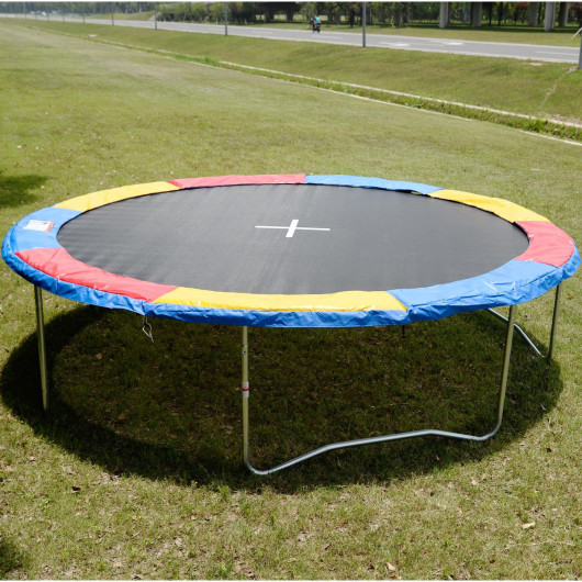 Costway Colorful Safety Round Spring Pad Replacement Cover for 14' Trampoline